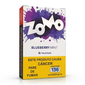 Essencia Narguile Zomo Blueberry Mint 50g - Unidade