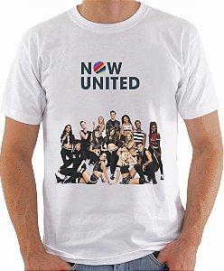 Camiseta Now United Integrantes Camisa Masculina Grupo Pop Music Tshirt Moda Geek Nerd Personalizada