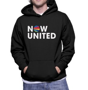 Moletom Now United Grupo Pop Music Agasalho Uniters Masculino Moda Geek Nerd Personalizado