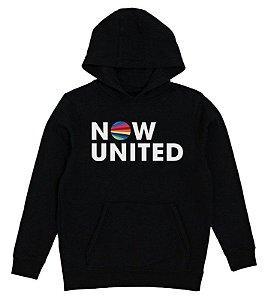 Moletom Now United Infantil Grupo Pop Music Agasalho Menino Menina Uniters Moda Geek Nerd Personalizado