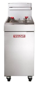 Fritadeira Industrial a Gás 90.000 btu/h 23 Litros Vulcan LG300