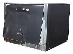 Forno para Fogão Industrial Luxo Paralelo 60x60x30 Metalmaq