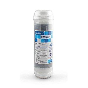 """Refil de Carvão Ativado para Filtro de Água 9.3/4""""x2.1/2"""" para Ponto de Uso Purefer"""