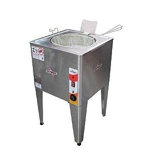 Fritadeira Elétrica Industrial Reativada Água e Óleo Skymsen 8000W FRP-24