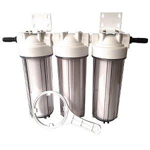 Sistema de Filtração para Cerveja Artesanal 3 Estágios Global Water