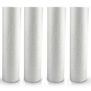 Kit de Elementos Filtrantes para o Sistema de Filtração para Cerveja Artesanal 3 Estágios Global Water