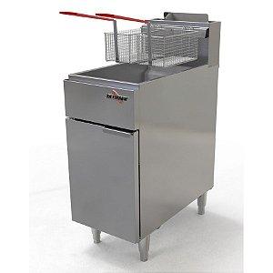 Fritadeira A Gás Inox Skymsen 90.000BTU FG20