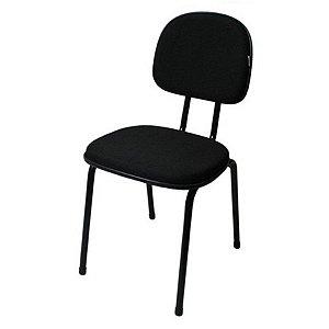 Cadeira Secretária 4 Pé fixo P2