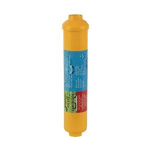 "Refil Filtro Mineralizador T33 Inline Conexão ¼"" Engate Rápido"