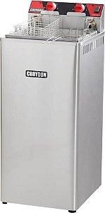 Fritadeira Elétrica Industrial Croydon Água e Óleo 27 Litros 8000W FA28