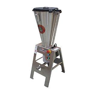 Liquidificador Industrial 25 Litros Basculante 1,5CV Todo Inox Monobloco Skymsen LAR-25LMB-HD