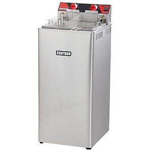 Fritadeira Elétrica Industrial Zona Fria 18 litros 8000W Croydon FZ28