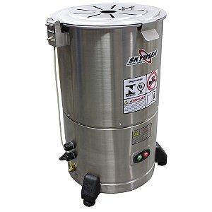 Descascador de Tubérculos Industrial 0,25CV Inox 6 kilos Skymsen DB-06
