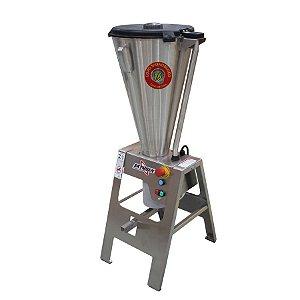 Liquidificador Industrial 15 Litros Basculante 1,5CV Todo Inox Monobloco Skymsen LAR-15LMB-HD