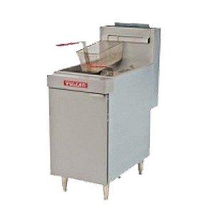 Fritadeira Industrial a Gás 150.000 btu/h 32 Litros Vulcan LG500