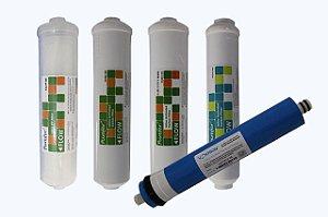 Cartuchos De Reposição Osmose Reversa 75gpd Aquawave com Membrana