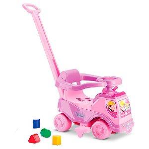 Carrinho De Bebe Totoka Plus Cardoso Toys com Haste para Empurrar