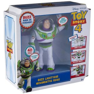 Toy Story 4 Buzz Lightyear Articulado Movimentos Reais Glr51