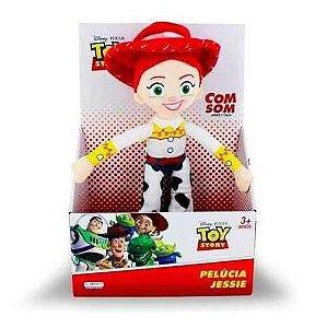 Boneca Pelúcia Toy Story Jessie A Cowboy  C/ Som 30 Cm Orig