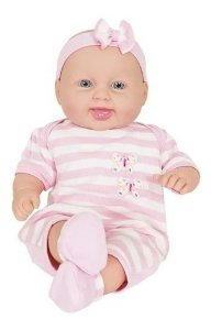 Boneca Bebê Menina Estilo Reborn Miyo - Cotiplás