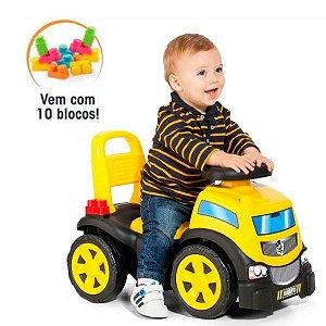 Andador Baby Land Blocks Truck Ride On Menino