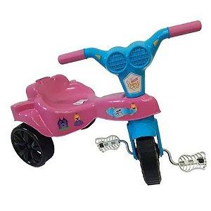 Triciclo Infantil Velotrol Kepler Top Motoca Rosa