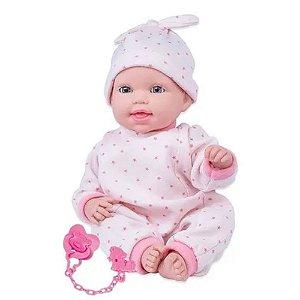 Boneca Miyo Menina Com Sons De Bebê Cotiplás - 2391