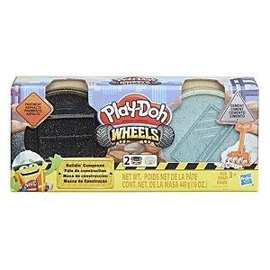 Massinha Play Doh Wheels Construção - Hasbro E4508