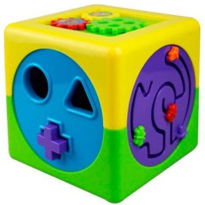 Cubo De Atividades Mundo Bita Brinquedo Interativo