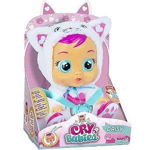 Boneca Cry Babies Daisy Chora Lágrimas De Verdade - Multkids
