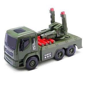 Caminhão Exército 25 Oil Yankee C/ Lança Míssil - Omg Kids