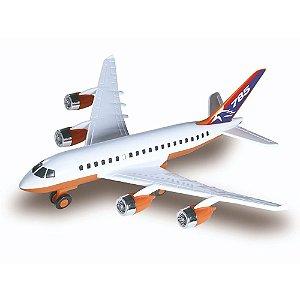Brinquedo Aviao Aerobus Concept BrinqueMix