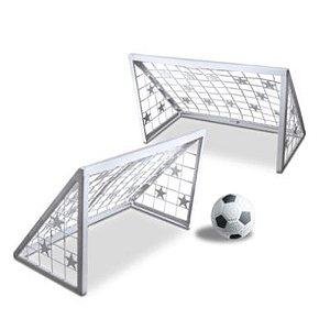 Brinquedo Chute ao Gol Treino Futebol BrinqueMix