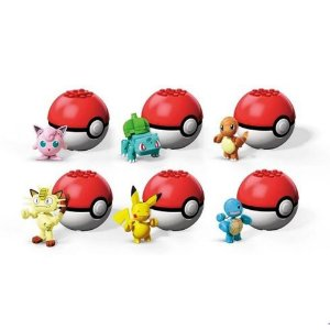 Pokebola Pokemon Mega Evergreen Sortidos - GFC85 Mattel