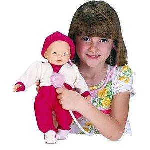 Boneca Doutora Bell em VInil Com Acessórios Omg Kids