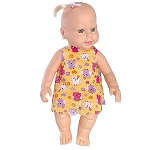 Boneca Bebê Flor Maria Xixi Omg Kids