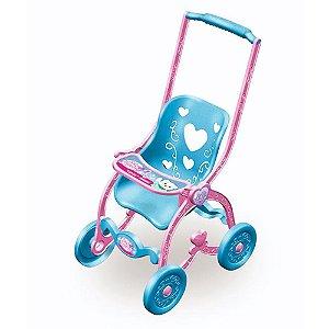 Carrinho Boneca Baby Car Princess BrinqMix
