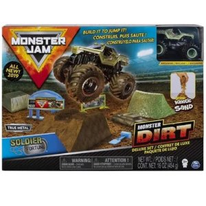 Pista Monster Jam Com Kinetic Sand 2024