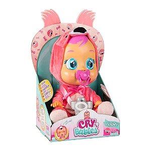 Boneca Cry Babies Flamy Chora e Lágrimas de Verdade