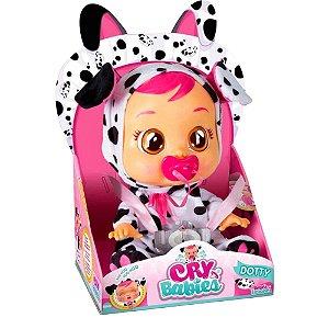 Boneca Cry Babies Dotty Original Chora Lágrimas de Verdade