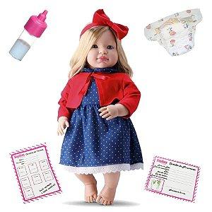 Boneca Bebe Louise Bambola - 636