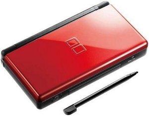 Nintendo Ds Lite Portátil - Vermelho - Cartucho - Jogos