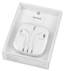 EarPods Apple com conector de fones de ouvido de 3,5 mm Original Genuino Lacrado