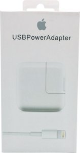 Carregador USB de 10W + Cabo Lightning USB (1 m) para Iphone 5 5s 6 6s 7 8 X Plus iPad Original Genuino Lacrado Apple
