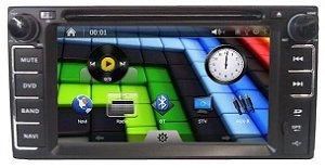 Central Multimidia DVD Toyota Corolla, Hilux, SW4 Original com GPS, Bluetooth, Auxiliar