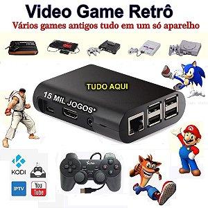 Vídeo Game Retro Arcade Raspberry Pi3 com Recalbox