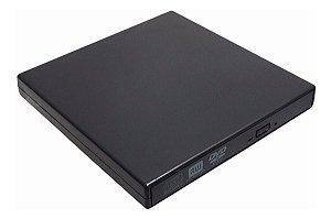 Gravador de Dvd e CD Externo Usb Slim - Grava Dvd