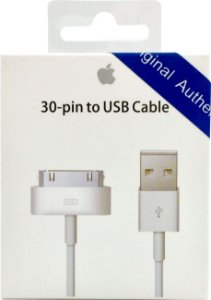 Cabo USB Apple para iPhone 4 4S Ipad Lacrado (1 m)