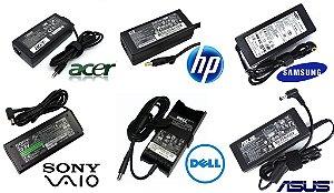 Fontes originais para notebooks Acer, ASUS, Dell, Compaq, HP, Sony, Samsung, CCE, Positivo