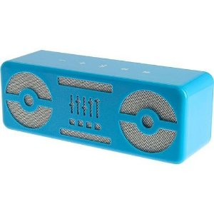Caixa de Som Bluetooth Blaster Bee Azul BeeWi